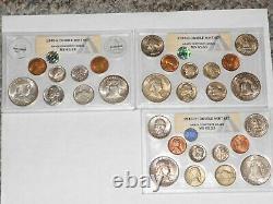 1949 Double Us Mint Set Anacs Classé Très Rare Tous Les Emballages Originaux