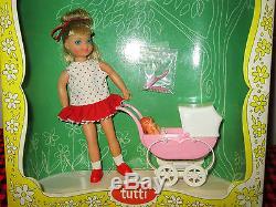 1966 Tres Rare Barbie Vtg. Tuttiboxed Setwalkin`my Dolly! 3552complete + Mint