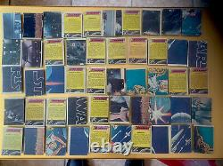 1977 Topps Star Wars Mexican Full Set! 66 Cartes Mexicaines Variation Très Rare