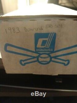 1983 Donruss Baseball Usine Complète Sealed Set Très Rare