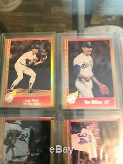 1991 Pacific Nolan Ryan Or Hologram 7 No-hitter Set 1-7 Très Rare