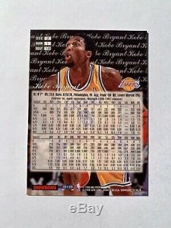 1997 Flair Showcase Kobe Bryant Sec-2-seat 18 Lignes 1,2 Et 3 Grâce Row 1 Très Rare