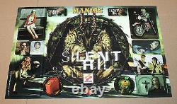 1999 Silent Hill Sticker Set Pour La Vieille Grande Playstation 1 Ps1 Très Rare