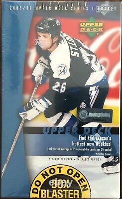 2005/06 Upper Deck Series 1 Blaster Box Hockey Très Rare