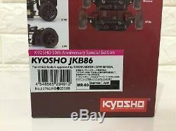 50 Se Très Rare Kyosho Mini-z Racer Jkb86 Body & Mr-03ve Châssis Set Japan F / S