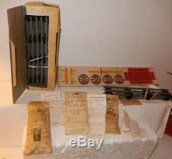 American Flyer Farm Découpures Très, Très Rare Dans 5001t Farm Box Set & Ensemble