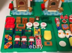 Animal Crossing Miniature Figure House Nintendo Jeu Very Rare Set Collection 4