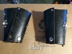 Années 1950 Vintage Hopalong Cap Guns Full Set Belt Cuffs - Spurs Badge Très Rare
