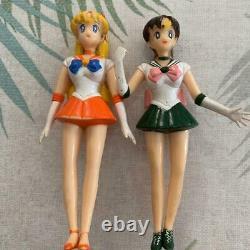 Bandai Sailor Moon Figure Ensemble De 11 Millésime Très Rare Utilisé Du Japon Dhl Fedex