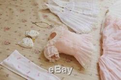 Belle Rose Dorothy Swan Sd Bjd Complète Robe Outfit Ensemble Complet Tres Rare