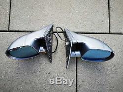 Bmw M5 E34 D'origine Miroirs De Sport Complet Ensemble Lhd Oem Nurburgring Très Rare