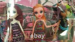 Bnib Nouveau Monster High Maul Monsteristas Poupées 5 Pack Set Very Rare Mattel