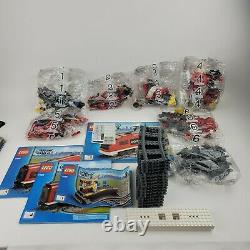 Boîte Ouverte Lego City 7938 Train De Voyageurs Nouvelle Marque Scellée, Retraitée, Très Rare