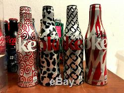 Bouteille De Coca Cola Aluminium Set Très Rare Diane Von Fustenberg