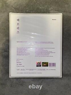 Bts Official Memories Of 2017 Blu-ray DVD Set Semi-sealed Very Rare