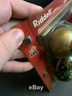 Cfl Riddell Taille Pocket League Casque Set Très Rare