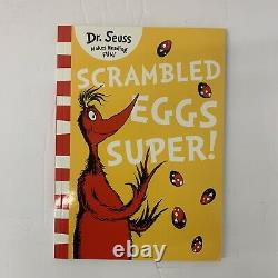 Classic Case Of Dr. Seuss 20 Book Set Comprend Scrambled Eggs Super (très Rare)