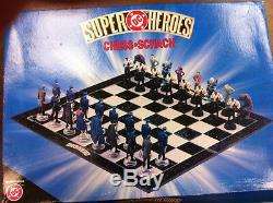 DC Superheroes Batman Jeu D'échecs (très Rare) Avec Livraison Gratuite