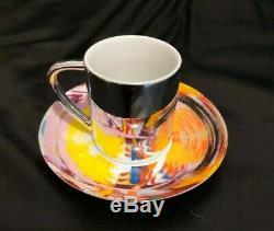 Damien Hirst Espresso Cup & Saucer Set Tres Rare