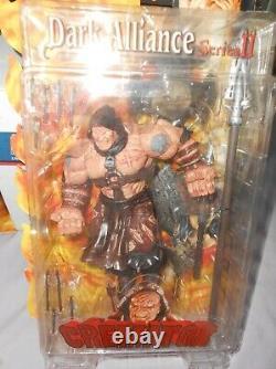 Dark Alliance Figures Lady Death, Purgatori, Crémator 3 Figure Set Very Rare Htf