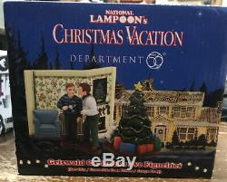 Dépt 56 Christmas Vacation Village National Lampoon Set Très Rare 4043261