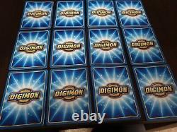 Digimon The Movie Promo- Plein 12 X Jeu De Cartes Nr / Menthe Condition Très Rare
