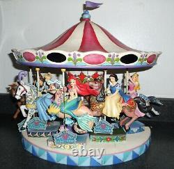 Disney Jim Shore Princess Complete Carousel Set Very Rare