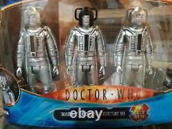 Docteur Qui Se Venge Des Cybermen Collectors Action Figure Set Très Rare