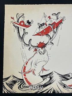 Dr Seuss Secrets Of The Deep Secret Art Set Of 2 Limited Avec Livre Très Rare