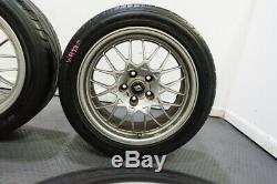 Ensemble Très Rare De 5x114.3 Nissan Skyline Gt Bnr32-r V-spec Roues Bbs Forged