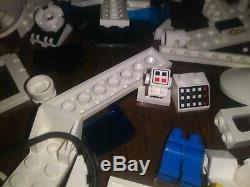 Espace Vintage Lego Futuron Monorail Mis 6990, 6991 Beaucoup De Pièces Massives. Très Rare