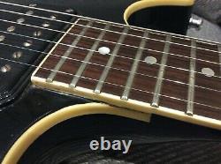 Fender Flame Masterbuilt 1984 Très Rare Guitare Électrique Set Neck Robben Ford