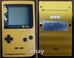 Game Boy Lumière Pikachu Astro Boy Couleur Rare Famitsu 6pcs Set Très Rare