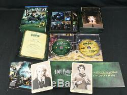 Harry Potter Ultimate Edition Complete Set Blu-ray Poo Très Rare Ex Dans L'ensemble