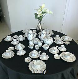 Herend Batthyany Full Dinner Service 150pcs. Place-setting For 6 +1 -very Rare