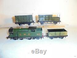 Hornby Dublo-rare Très Gwr Marchandises Set-vert N2 (6699) Excelnt / Boxd C1947