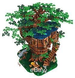 Idées Lego Treehouse # 21318 (scellé) (très Rare) Limited Nouveau (2 Jeux De Feuilles)