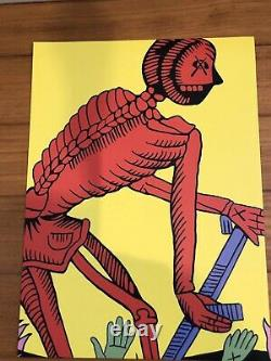 Kaws Art Print Poster 6 Set Originalfake Tarot Series Original Art Very Rare Jpn