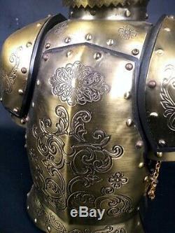 King Arthur Armure Decanter Set Chevaliers De La Table Ronde Très Rare