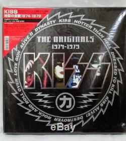 Kiss The Originaux 1974-1979 11 Couleur Lp- Coffret Japon Très Rare! Japonais