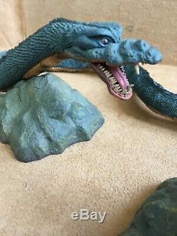 Larve X-plus Manda Mothra Set Godzilla Toho Série Grand Monstre Très Rare ^^