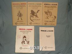 Le Coffret Blanc Original Tsr Dungeons And Dragons (très Rare Et Nr Mint-!)
