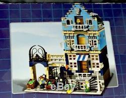 Lego 10190 Market Street Series Modulaire Maison De Ville Très Rare