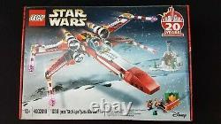 Lego #4002019 X-wing 20e Anniversaire Cadeau D'employé Noël Très Rare