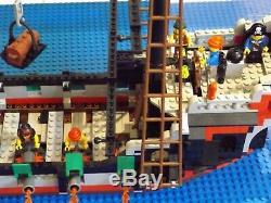 Lego 6286 Pirate Ship Très Bon État. Presque Complet. Opportunité Rare
