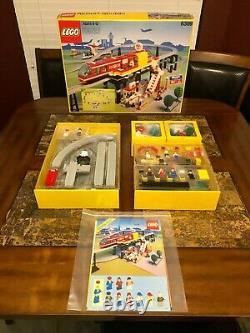 Lego 6399 Aéroport Navette Monorail Train Très Rare