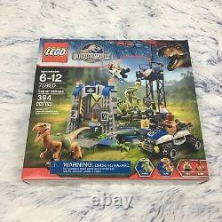 Lego 75920 Raptor Échapper Jurassic Du Monde Des Dinosaures Très Rare Neuf