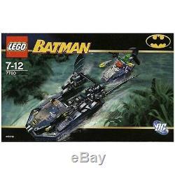 Lego Batman 7780 Le Batboat Hunt Killer Croc 2006 Très Rare