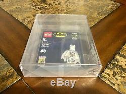 Lego Batman Zebra Mini Figure 2019 Sdcc San Diego Comic Con Afa 9,25 Très Rare
