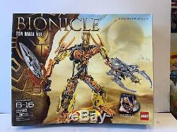 Lego Bionicle Toa Mata Nui Tout Neuf Dans La Boîte Sealed 8998 Très Rare Bionicle 2009